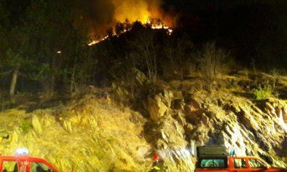 Piromani scatenati: ancora incendi boschivi
