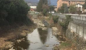 Sistemazione e pulizia del torrente Gallenca, domenica di sopralluoghi a Cuorgnè