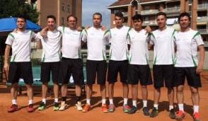 Sporting Borgaro al via della serie A2 maschile del tennis