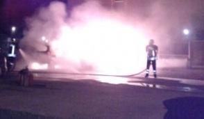 Bruciano i cassonetti nella notte a Mappano