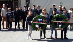 Castellamonte ha celebrato la Festa di Liberazione insieme agli studenti