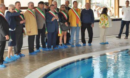 Inaugurata la nuova piscina comunale