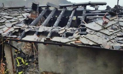 La casa andata a fuoco a Corio giudicata inagibile