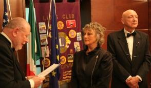 Silvana Neri entra nel Lions Club Alto Canavese