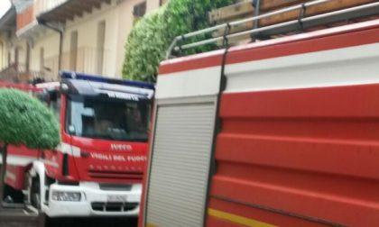 Ancora fiamme stamattina in via Matteotti a Ciriè