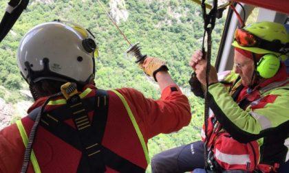 E' grave un alpinista di Sparone ricoverato al Cto