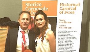 Lo storico Carnevale di Ivrea protagonista al Salone del Libro