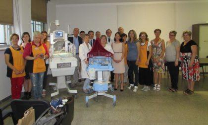 Pediatria di Ciriè: donata incubatrice neonatale