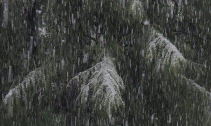 Primo maggio con la neve