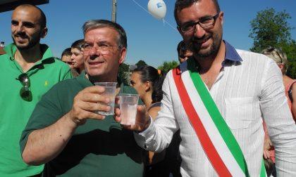 Acqua gratuita per 15 giorni: inaugurato il punto Smat a Grange