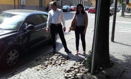 """Arredo urbano: """"disastro"""" a Ciriè"""