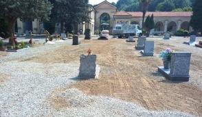 Partono i lavori di sistemazione del cimitero