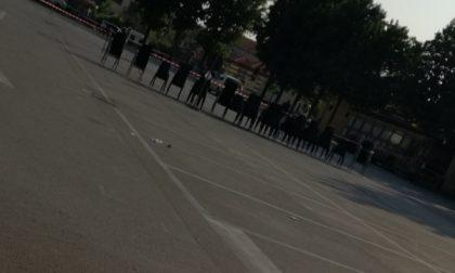 """Piazza Castello chiusa  alle auto per le """"prove"""": chi le ha viste?"""