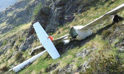Tragedia del volo, aliante si schianta contro una montagna
