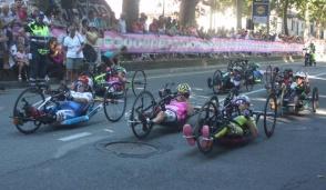 Un tricolore per la festa del ciclismo