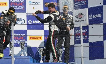 Veglia, da Leini al Campionato Italiano Gran Turismo