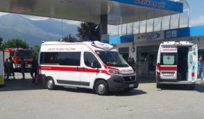 A Castellamonte incidente tra un'auto e un'ambulanza