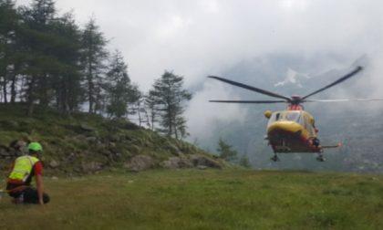 Alpinista si frattura una gamba nel Vallone di Piantonetto