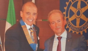 Ilario Boggio nuovo presidente del Rotary Club Cuorgnè e Canavese