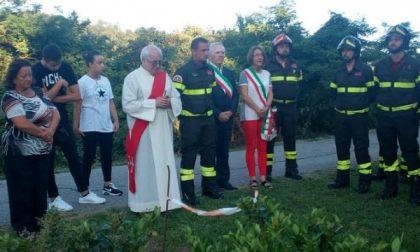 In ricordo del vigile del fuoco Massimo La Scala