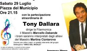 Tony Dallara ospite a Bollengo