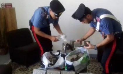 Arrestato con 160 chili di hashish