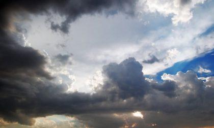 Arrivano i temporali, primo calo termico