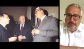 Gli auguri video di Bobo Craxi a Eugenio Bozzello per il suo 89esimo compleanno