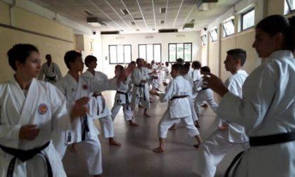 Il karate è protagonista in Valchiusella