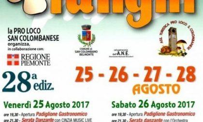 Sagra dei Funghi, ancora due giorni di festa a San Colombano Belmonte