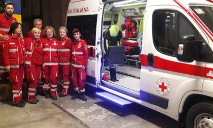 Un'ambulanza in memoria di Gloria Rosboch