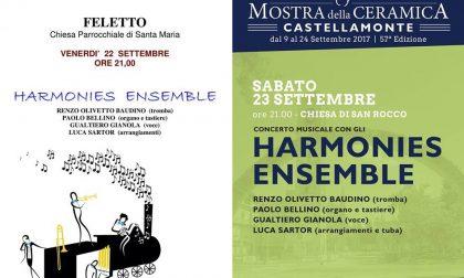 Harmonies Ensemble in concerto