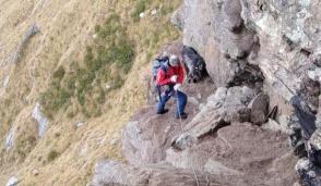 Montagna, doppio intervento del soccorso alpino