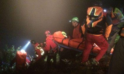 Cade  in un dirupo: salvato dal Soccorso Alpino