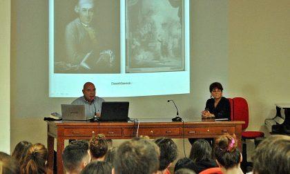 Fernando Cioni al Liceo Botta per Shakespeare