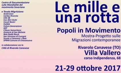"""Mostra-progetto """"Le mille e una rotta – Popoli in movimento"""""""