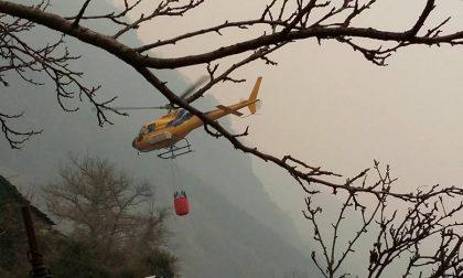 Incendi Valle e Orco Soana continua il lavoro dei volontari