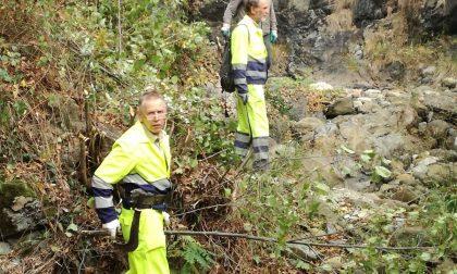 Alpini e Protezione Civile canali in sicurezza