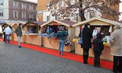 In piazza San Giovanni il mercatino di Natale