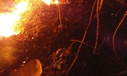 Scoppia incendio residenti salvano Cantoira