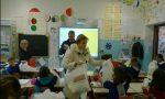Lavagna multimediale regalata alla scuola