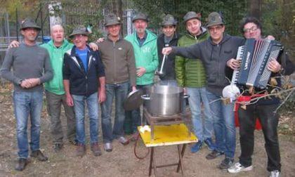 Alpini caldarroste vin brulè