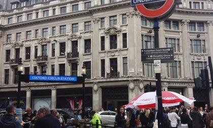Oxford Circus evacuata la stazione per falso allarme
