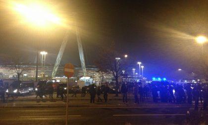 Festa Juventus tifoso scippato