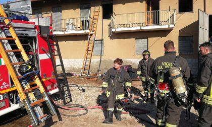 Incendio cascinale San Maurizio