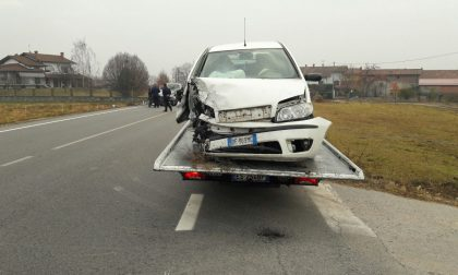 Incidente Sp222 Ozegna Castellamonte | Foto