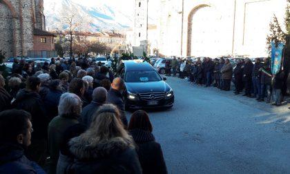 Funerali bimbo morto a 10 anni a Castellamonte