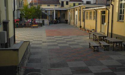 Nuovo cortile alla Fenoglio inaugurazione
