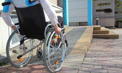 Cortile vietato al disabile