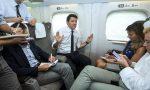 """Renzi in Canavese col treno """"dell'ascolto"""""""